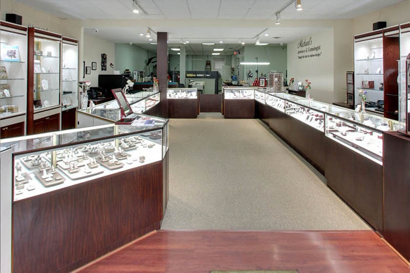 Michaels Jewelers And Gemologist Haddon Heights New Jersey Interior